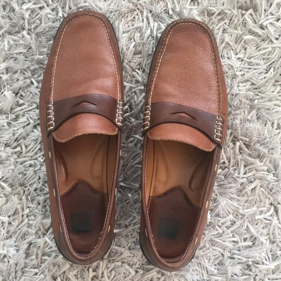 Johnston Murphy Leather Driving Shoe